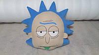 """Игрушка-подушка ручной работы Рик (персонаж """"Рик и Морти"""")"""
