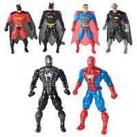 Супергерой 8077-08 свет, 6 видов(СП, BM, СМ) в кульке 15-9-3см