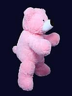Плюшевый медведь 50 см розовый