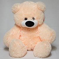 Плюшевый медведь 50 см персиковый