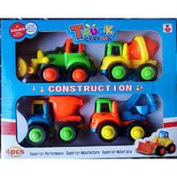 Набор машин 818-4 строительной техники