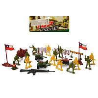 Комбат 2010В4  игровое поле, военная техника, солдаты,  17,5-27-5 см