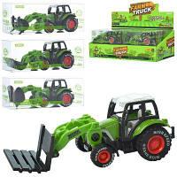 Трактор 955-100 инер-й,13см,стройтехн/сельхоз,в слюде,12шт(4вид)в дисплее 29-14-10,5см