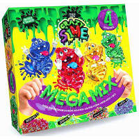 """Набор для опытов """"Crazy Slime"""" ручной лизун Mega Mix укр. /10"""