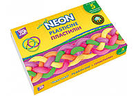 Пластилин неоновый и сверхмягкий  5 цветов 110 г CF60213