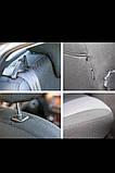 Авточохли MERCEDES 124 1984-97г. з/сп цільна;подлок;4подгол;п/подлок Nika, фото 3
