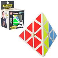 Кубик Рубика EQY512 пирамида, 9,5-9,5-9,5 см, в кор-ке 7-11-7,5 см