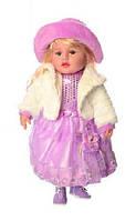 """Кукла мягкая """"Панночка"""" M 3863 UA в розовом платье для девочки"""