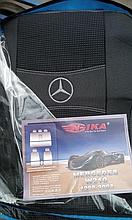 Авточехлы MERCEDES W210 1995-2003г з/сп цельная;подлок;5подгол;п/подлок;airbag Nika