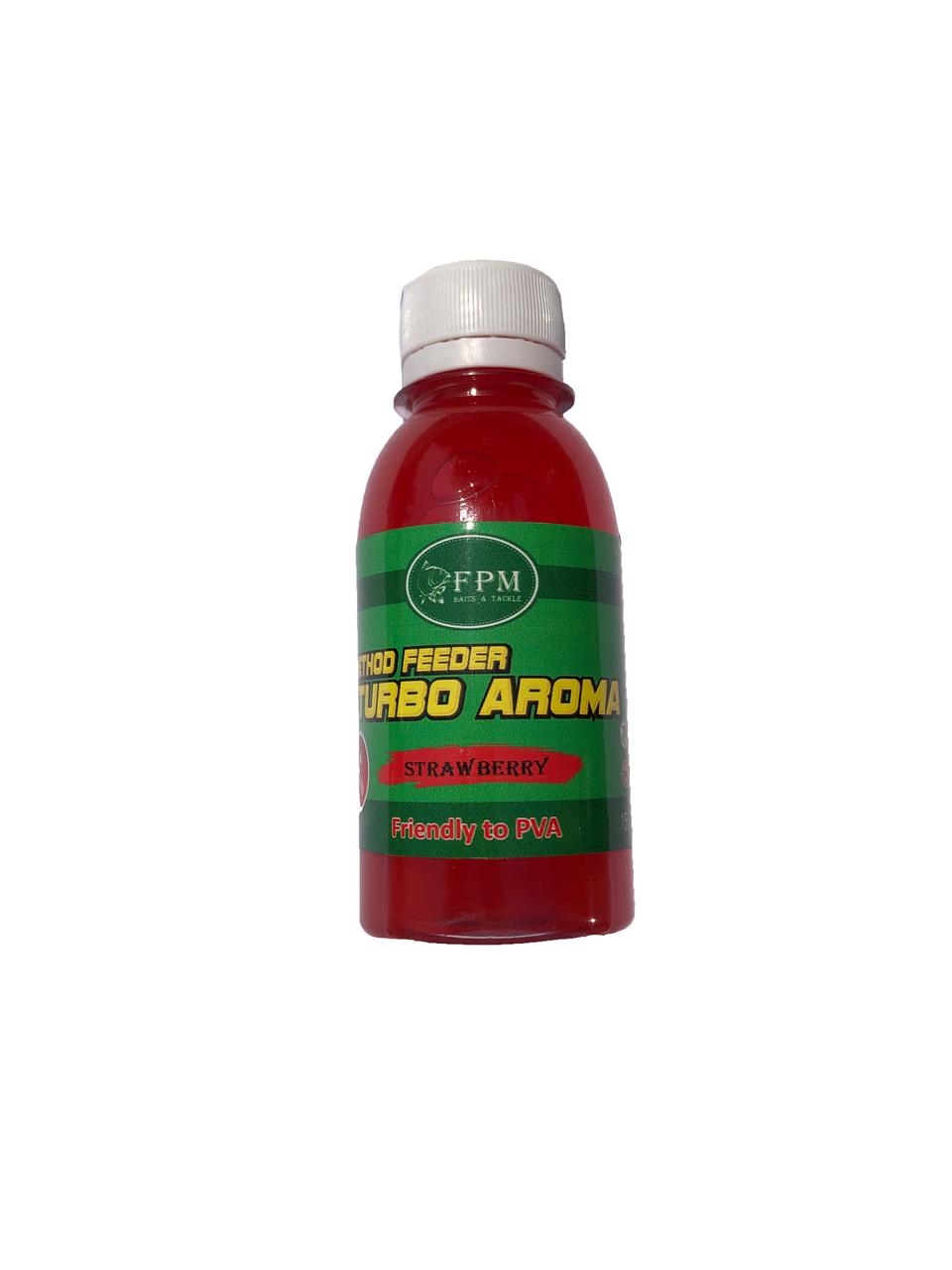 Turbo Aroma Method Feeder FPM 150мл Betain Strawberry Клубника