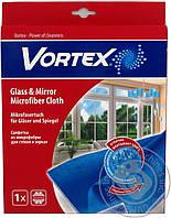 Салфетки для пыли Салфетка-микрофибра для стекол 35х35см Vortex-18300920 0146575