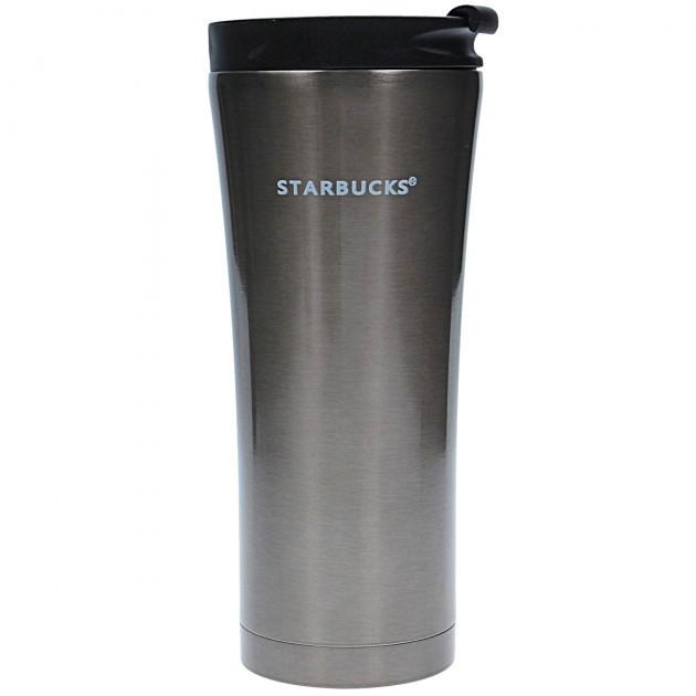 Термокружка тамблер Starbucks-3 500 мл в сером цвете