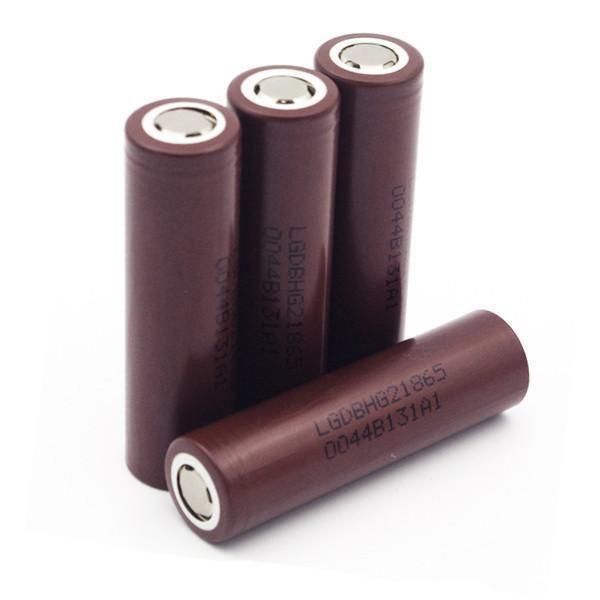 Аккумулятор для электронных сигарет LG 3000 mA/h 18650
