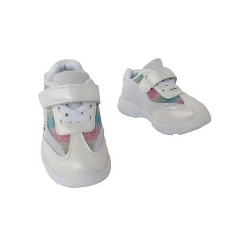 Белые кроссовки на высокой подошве девочкам, р. 22, 23, 24, 25, 26. Деми, весна, осень, лето