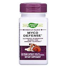 """Комплекс грибов Nature's Way """"Myco Defense"""" для поддержки иммунитета, 1000 мг (60 капсул)"""
