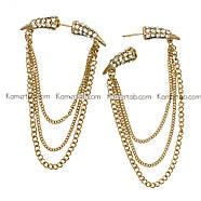 Екстравагантні сережки Ікла, фото 2