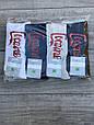 Чоловічі шкарпетки бавовна Montebello високі з надписом Cocaine 41-44 12 шт в уп мікс кольорів, фото 2