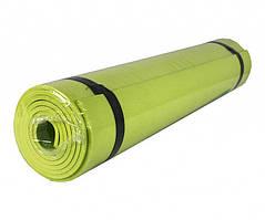 Килимок для занять фітнесом і йогою M 0380-3 Зелений