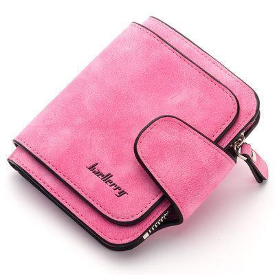 Клатч кошелёк Baellerry Forever N 2346 замшевый розовый