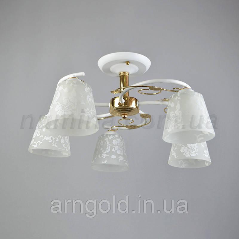 Люстра потолочная на пять лампочек 29-C136/5FGD