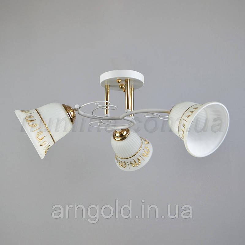 Люстра потолочная на три лампочки 29-E550/3FG