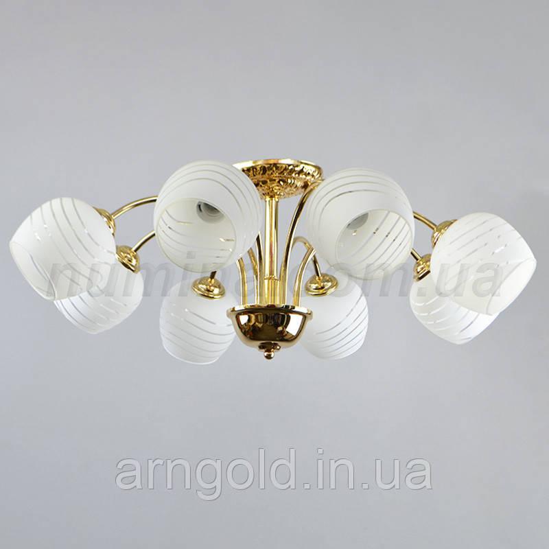 Люстра потолочная на восемь ламп 29-С085/8A FGD+WT