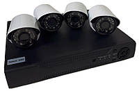 Комплект видеонаблюдения на 4 камеры UKC DVR KIT 520 AHD 4ch Gibrid 6932, фото 1