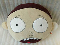 """Игрушка-подушка ручной работы Морти (персонаж """"Рик и Морти"""")"""
