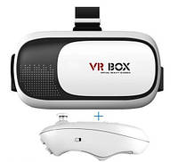 Шлем VR BOX 2.0 с джойстиком (виртуальная реальность), фото 1