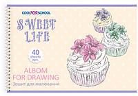 Альбом для рисования на пружине, 40 листов CFS CF60904-09