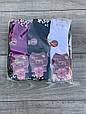 Женские носки бамбук Nilado стрейчевые с жемчужинами на отворот 36-40 12 шт в уп микс из 6 цветов, фото 2