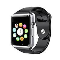 Черные умные часы Smart Watch A1, фото 1