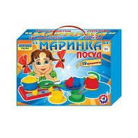 "Игрушка посуда ""Маринка"" в картонной коробке арт.1554 (5шт) ТехноК"