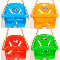 """Іграшка гойдалки """"Малюк ТехноК"""" (12 шт) колір мікс"""