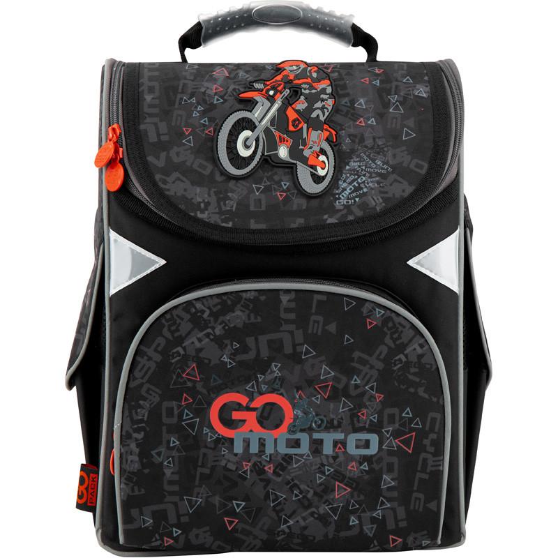 Рюкзак школьный каркасный GoPack Education Go Moto GO20-5001S-11