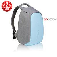 "Рюкзак протикрадій міської XD Design Bobby Compact 14"", Pastel Blue (P705.530)"
