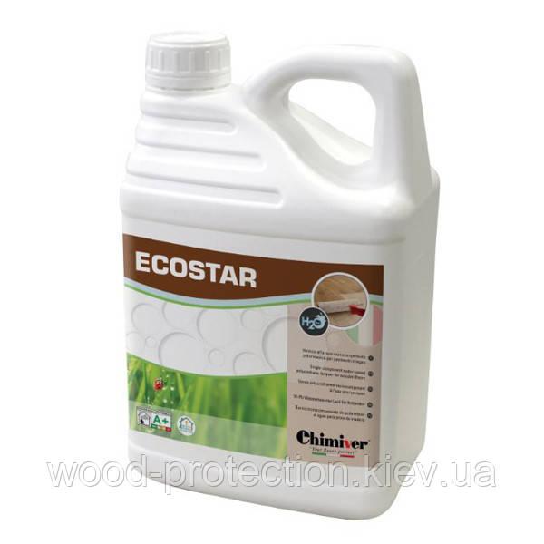 Лак для паркету швидкосохнучий Chimiver Ecostar LD (глянцевий) - 5л
