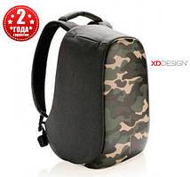 "Рюкзак протикрадій міської XD Design Bobby Compact 14"", Camouflage Green (P705.657)"