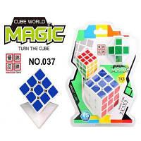Кубик рубика логика 037 (120 шт/2) 3-3,2 кубика и змейка в слюде 17-21 см
