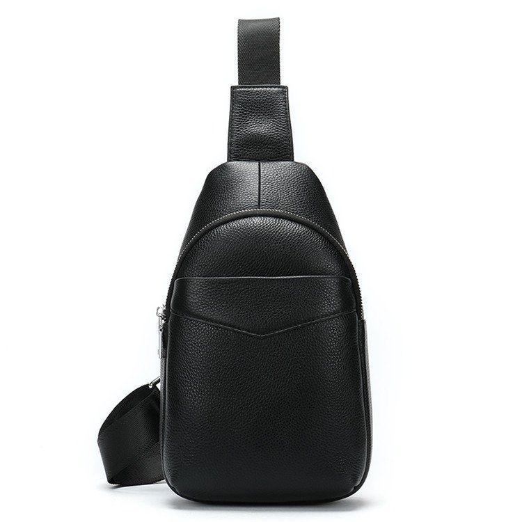 Сумка через плечо мужская Vintage 14857 Черная, Черный