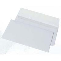 Конверт 100х220 мм белый с отрывной лентой 85-1423, фото 1