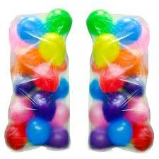 Пакет для перевозки и транспортировки надутых воздушных шаров 110*210 см (от 10шт)
