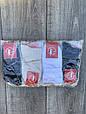Шкарпетки бавовна Sport Soks жіночі стрейчеві короткі 36-39 12 шт в уп мікс із 3х кольорів, фото 3