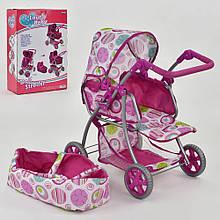 Коляска для кукол Lovely baby 8194