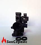 Левый гидроузел трехходового клапана на газовый котел Viessmann Vitopend 100 WH1B 7830419, фото 3