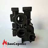 Левый гидроузел трехходового клапана на газовый котел Viessmann Vitopend 100 WH1B 7830419, фото 5