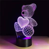 Электрический светильник Настольный с 3D  оптическим эффектом