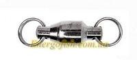 Вертлюг Kamasaki с заводными кольцами на подшипнике № 3 BN 6001 5шт Ball Bearing Swivel with split r