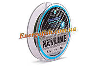 Поводковый материал Cralusso Kevline Sinking 8 Braid Line 10 м 20 lbs 9.1 кг (2081)
