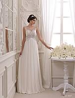 Утонченное свадебное платье в греческом стиле